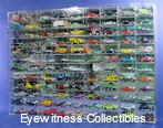 1/64 SCALE DIECAST ACRYLIC DISPLAY CASE - 108 MATCHBOX - HOT WHEELS CARS
