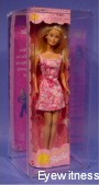 DOLL ACRYLIC DISPLAY CASE FOR 1 BARBIE SIZE DOLL IN IT'S BOX