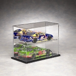 1/24 SCALE 2 CAR DIECAST ACRYLIC DISPLAY CASE