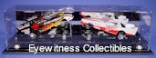 1/24 SCALE FUNNY CAR ACRYLIC DISPLAY CASE FOR 2 OPEN CARS