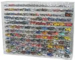 1/64 SCALE DIECAST CAR ACRYLIC DISPLAY CASE FOR 144 CARS