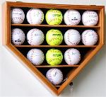 14 SOFTBALL HOME PLATE SHAPED DISPLAY CASE