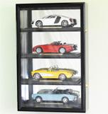 1/18 SCALE 4 CAR DIECAST ACRYLIC DISPLAY CASE