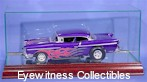 1/18 SCALE DIECAST CAR GLASS DISPLAY CASE FOR LONGER CARS - DESKTOP