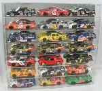 1/24 SCALE DIECAST 21 CAR ACRYLIC DISPLAY CASE - 21 FREE NAME PLATES