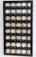 40 Baseball Acrylic Cubes Display Case Cabinet 40 FREE PLATES