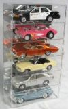 1/18 SCALE DIECAST CAR VERTICAL ACRYLIC DISPLAY CASE FOR 6 CARS