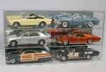 1/18 SCALE DIECAST 6 CAR ACRYLIC DISPLAY CASE - 6 FREE NAME PLATES