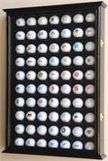 70 GOLF BALL DISPLAY CASE CABINET