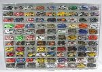 1/64 SCALE DIECAST ACRYLIC DISPLAY CASE - 99 MATCHBOX - HOT WHEELS CARS