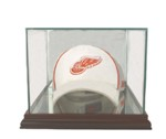 ETCHED GLASS CAP / HAT DISPLAY CASE FOR FOLDED CAP - DESKTOP