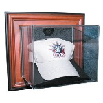 WALL MOUNT CAP - HAT ACRYLIC DISPLAY CASE - NHL LOGO