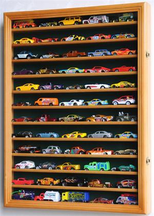 Hot Wheels Matchbox Display Case Cabinet W Door Custom