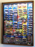 Hot Wheels / Matchbox Display Case Cabinet for cars in retail boxes