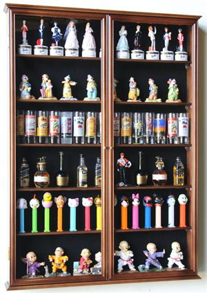 Tall Shot Glass Shooter Mini Liquor Bottle Display Case