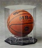 BASKETBALL OCTAGON ACRYLIC DISPLAY CASE