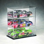 1/24 SCALE 3 CAR DIECAST ACRYLIC DISPLAY CASE