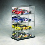 1/24 SCALE 4 CAR DIECAST ACRYLIC DISPLAY CASE