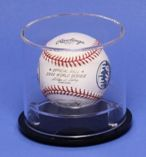 SINGLE BASEBALL ROUND ACRYLIC DISPLAY CASE