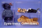 BEANIE BABY SIZE ACRYLIC DISPLAY CASE REGULAR DOLL
