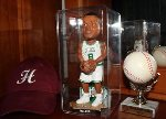 BOBBLE HEAD DOLL ACRYLIC DISPLAY CASE FOR LARGER SIZE DOLLS
