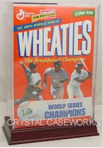 WHEATIES CEREAL BOX DISPLAY CASES