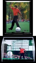 GOLF BALL & 8X10 PHOTO ACRYLIC DISPLAY CASE