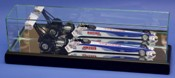 1/24 SCALE DIECAST GLASS DISPLAY CASE FOR 1 NHRA TOP FUEL DRAGSTER