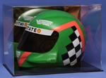FULL SIZE DRIVERS HELMET ACRYLIC DISPLAY CASE NASCAR - RACING