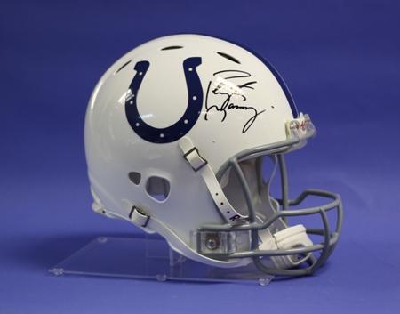 Full Size Football Helmet Custom Acrylic Display Stand Custom Display Case