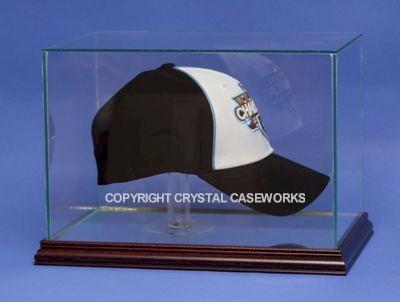 d221ee76f93 CAP   HAT GLASS DISPLAY CASE FOR A FULL OPEN CAP - DESKTOP  Custom ...