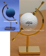 SINGLE GOLF BALL HANDBALL DISPLAY HOLDER - RING