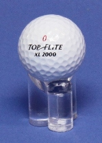 GOLF BALL TRI ROD ACRYLIC DISPLAY STAND