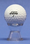 ACRYLIC T-CUP GOLF BALL DISPLAY STAND