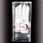 GOLF GLOVE ACRYLIC DISPLAY CASE