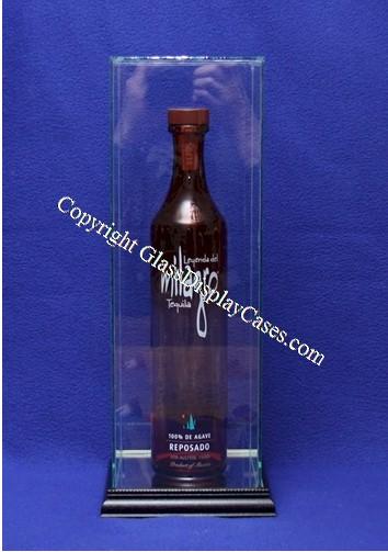 Liquor Bottle Glass Display Case 5 Quot X 5 Quot X 12 Quot Custom