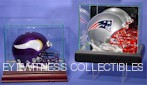 Mini Helmet Display Cases
