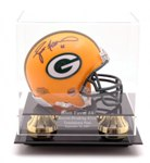 MINI HELMET ACRYLIC DISPLAY CASE - LASER ETCHED