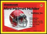 BALL QUBE MINI HELMET DISPLAY CASE 98% UV PROTECTION