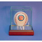 Single Baseball Glass Display Case