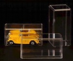 1/64 SCALE 6 PACK DIECAST CAR DISPLAY CASES - MATCHBOX - HOT WHEELS