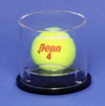 TENNIS BALL ROUND ACRYLIC DISPLAY CASE