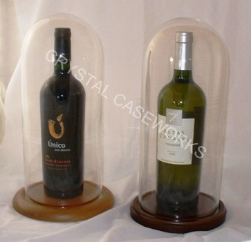 wine bottle display