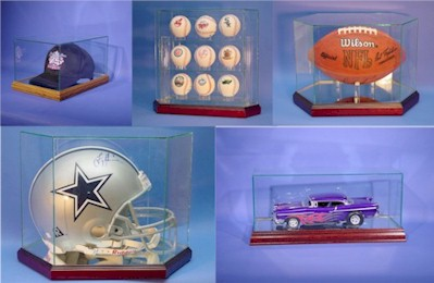 Custom Display Cases - Baseball Display Cases - Football Display Cases - DieCast Car Display Cases - Basketball Display Cases - Doll Display Cases - Hockey Puck and Stick Display Cases - Custom Display Cases - Casket and Memorial Flag Display Cases - Mini Helmet Display Cases - Jersey Display Cases - Golf Ball Display Cases - Beanie Baby Display Cases - Glass Display Cases - Acrylic Display Cases